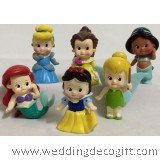 Cute Baby Princess Figurines, Cute Disney Princess Baby Toy