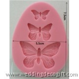 Butterfly Silicone Mould, Gumpaste Mould Butterfly – BFSM04
