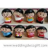 Chibi Maruko-chan Figurine Toy, Chibi Maruko-chan Cake Topper