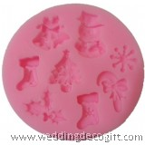Christmas Cake Mould Silicone, Fondant Mould for Christmas– CSM01