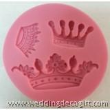 Crown Fondant Silicone Mould, Tiara Gum Paste Mould –CRSM01