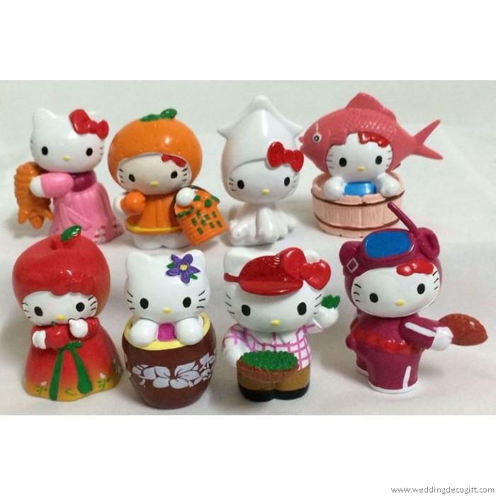 Hello Kitty Toys For Cakes : Hello kitty cake topper figurine toy