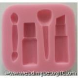 Make Up Tools Gum Paste Mould, Make Up Fondant Mould – MUSM01