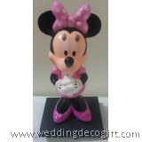 Minnie Mouse Cake Topper, Minnie Mouse Figurine Toy