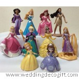 Rapunzel, Princess Sofia, Princes Anna Cake Topper, Princess Figurine Toy – CCT16