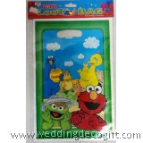 Sesame Street Elmo, Cookie Monster Party Bag – SSB01