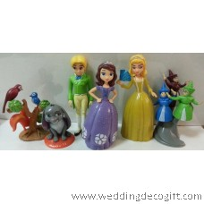 Sofia the First Toy Cake Topper, Sofia the First Play set Figurine Toy – CCT17B