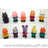 Peppa Pig Cake Topper Toy Figures - PPCT04