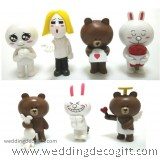 Line Town Toy Figures Cake Topper - LTCT01