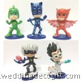 PJ Masks Cake Topper Toys Figures  - PJCT02