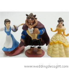 Beauty and the Beast Toy Figures - CCT41