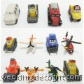 Disney Planes 2 Cake Topper Toy Figures - DPLCT03