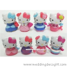 Hello Kitty Cake Topper Toy Figures - HKCT18A