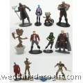 Guardian of the Galaxy Cake Topper Toy Figures - GGCT01