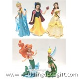 Tinker Bell, Princess Elsa, Snow White, Belle, Ariel Toy Figures - CCT43