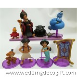 Disney Princess Jasmine, Aladdin and friends Cake Topper Figures
