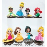Disney Princesses Cake Topper Toy Figures - CCT47