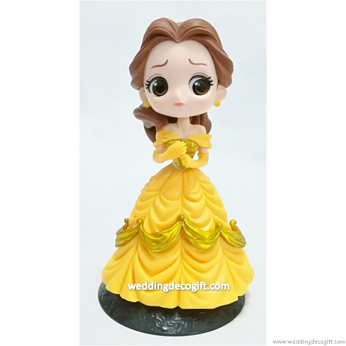 Beauty and the Beast Belle Cake Topper – CCT50