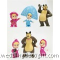 Masha and The Bear Toy Figures - MBF02