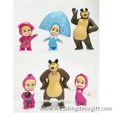 Masha and The Bear Toy Figures - MBF02