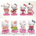 Cake Topper Hello Kitty Toy Figures - HKCT19
