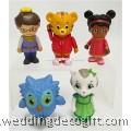 Daniel's Tiger Neighbourhood Cake Topper Toys - DTCT01