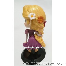 Rapunzel Toy Figures, Rapunzel Cake Topper - CCT53