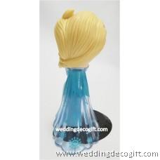 Disney Frozen Elsa Toy Figures, Elsa Cake Topper - CCT54