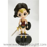 Wonder Woman Toy Figures, Wonder Woman Cake Topper - CCT55