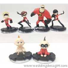 The Incredibles Toy Figures – INCFCT01
