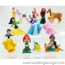 Disney Princesses Toy Figures - CCT57