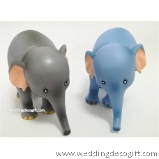 Elephant Toy Figures, Dumbo Cake Topper - DUCT01