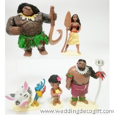 Moana Toy Figures Cake Topper - MOCT03