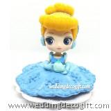 Cinderella Cake Topper Figure, Toy Cinderella - CCT58C