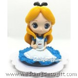 Alice in Wonderland Cake Topper Figure, Toy Alice in Wonderland - CCT58AW