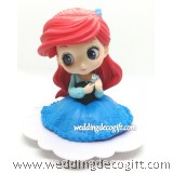 Princess Ariel Cake Topper Figure, Toy Princess Ariel - CCT58A