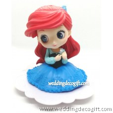Princess Ariel Cake Topper Figure, Toy Princess Ariel - CCT58A