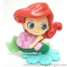 The Little Mermaid Toy Figure, Cake Topper Ariel - CCT64DG