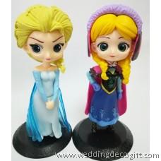 Disney Princess Frozen Elsa, Anna Toy, Cake Topper Frozen - CCT63