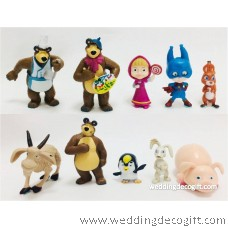 Masha and the Bear Toy Figures - MBF03