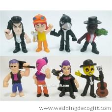 Brawl Stars Toy Figurines - BSF01
