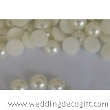 Round Flatback Pearls Garment Accessories Decoration White Rice