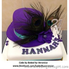 Rhinestone Diamante Cake Topper Number, Number Cake Topper
