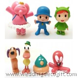Pocoyo, Pato, Baby Bird, Elly Toy Figurine, Pocoyo Toy FIgurine