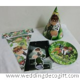 Ben 10 Party Supplies, Ben 10 Tableware