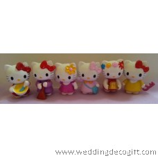 Hello Kitty Cake Topper Decoration, Hello Kitty Figurine
