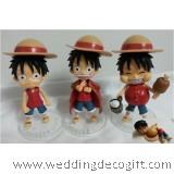 Anime One Piece Figurine / Anime One Piece Cake Topper