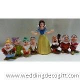Snow White and the Seven Dwarfs Cake Topper, Decoration,  Kids Toy