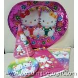 Hello Kitty Party Supplies Kit Set