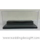 Transparent Display Box / Figurine Decoration (Black)